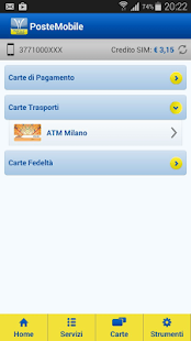 App PosteMobile - ATM Milano apk for kindle fire
