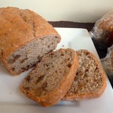 Orange Cinnamon Walnut Bread