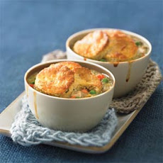 Biscuit-topped Chicken Potpies