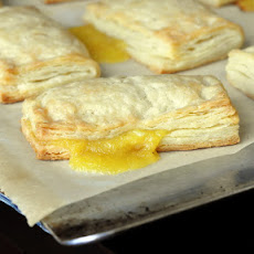 Lemon Sour Cream Pastry Turnovers