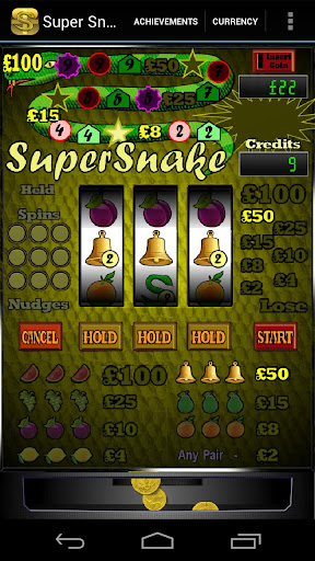 Super Snake Slot Machine + - screenshot
