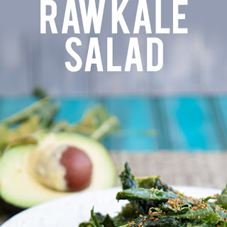 Super Simple Raw Kale Salad