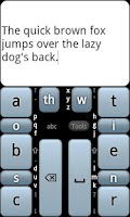 Screenshot of Chorded Keyboard - GKOS