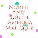 North & South America Map Quiz icon
