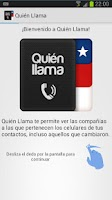Screenshot of Quien Llama - Who is Calling