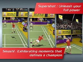 Screenshot of Badminton: Jump Smash™