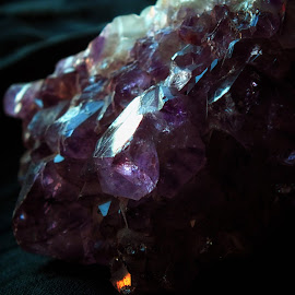 Amethyst geode by Milena Žbogar - Artistic Objects Other Objects ( amethyst geode, reflection, decorative, purple, decoration, violet, amethyst, crystal,  )