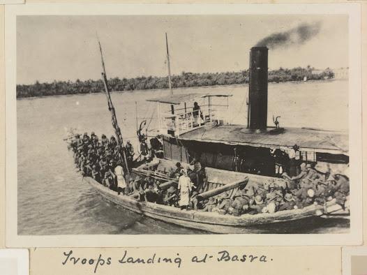 Iraq and Turkey: Captain Stanley Cyril Beresford Mundey
