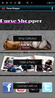 Screenshot of Purse Shopper - Hide My Text