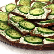 Cucumber and Cream Cheese Appetizers
