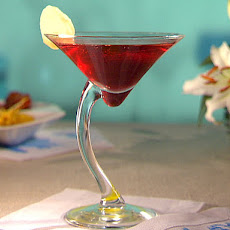 Gingered Pomegranate Cosmo