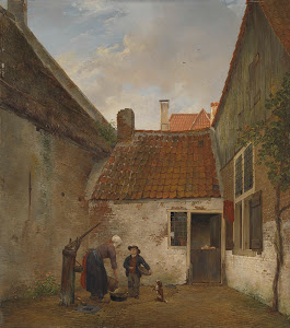 RIJKS: Andreas Schelfhout: painting 1830