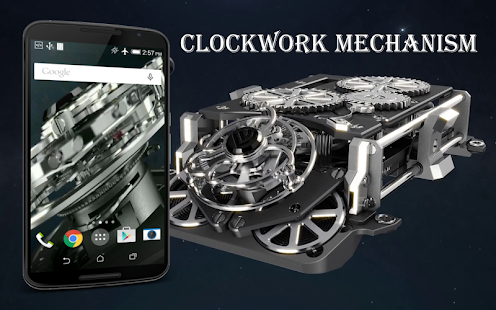 Clockwork Mechanism LWP - screenshot