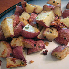 Garlic Chive Red Potatoes