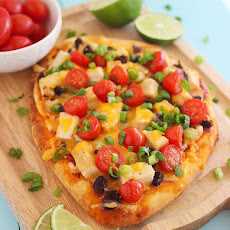 Tex-Mex Chicken Taco Flatbread