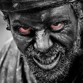 THe MooR by Sofia Azevedo - People Portraits of Men ( living statues, men )