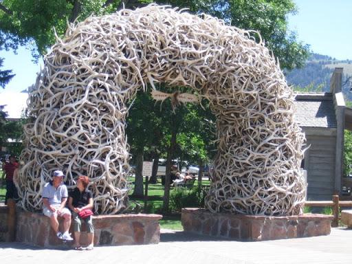 Antler Arches in Jackson