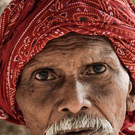 Ramu Kaka by Rakesh Syal - People Portraits of Men (  )