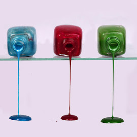 Dripping Enamel by Rakesh Syal - Artistic Objects Other Objects