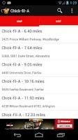 Screenshot of Find Fast Food
