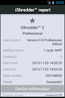 Screenshot of iShredder 3 PRO