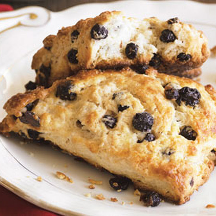 Meyer Lemon and Dried Blueberry Scones Recipe | Yummly