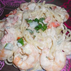 Light (And Delicious) Shrimp and Linguine