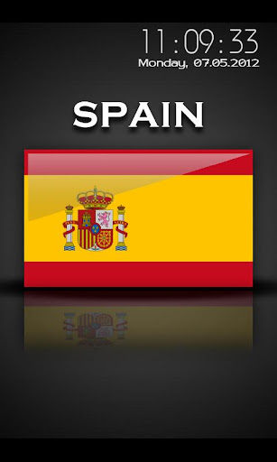 Spain - Flag Screensaver
