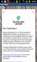 Screenshot of Nyttodjur