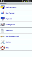 Screenshot of NIKOIL BANK MobilBank
