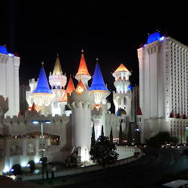 Excalibur by Dawn Hoehn Hagler - Buildings & Architecture Office Buildings & Hotels ( las vegas, excalibur, castle, hotel, vegas,  )