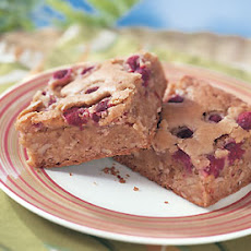 Raspberry-Pecan Blondies