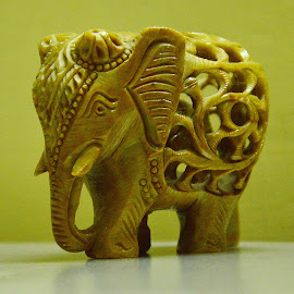 ElePhantastic... by Saikat Kundu - Artistic Objects Other Objects ( elephant, object, show piece, close up, antique )