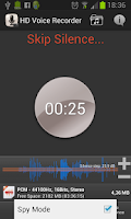 Screenshot of HD Voice Recorder
