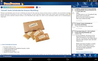 Screenshot of DealDoktor » Schnäppchen App