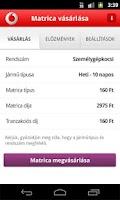 Screenshot of Vodafone - Autópálya