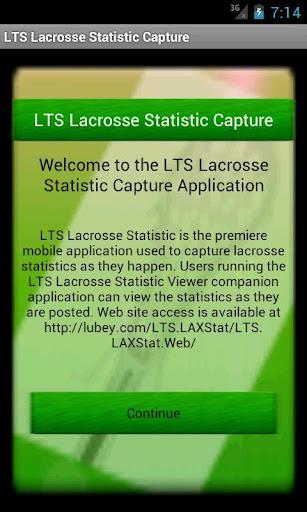 LTS Lacrosse App