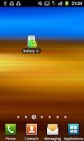 Screenshot of Battery Usage Shortcut