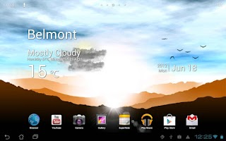 Screenshot of Sunrise Pro Live WP FREE