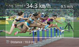 Screenshot of Speed Gun