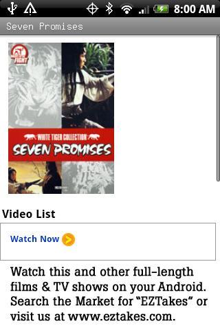 Seven Promises Movie