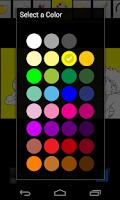 Screenshot of Animals Coloring Book