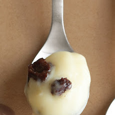 Rum-Raisin Pudding