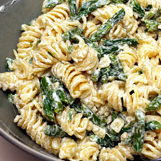 Asparagus Pasta Goat Cheese Recipes