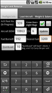 Beechcraft 1900D W&B - screenshot