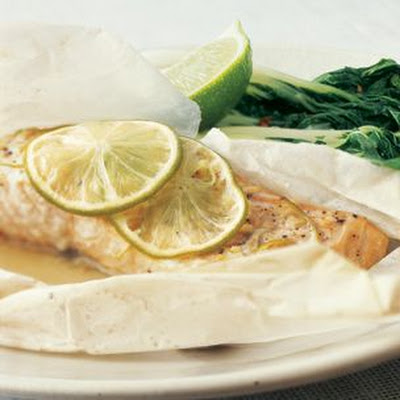 Salmon with Ginger and Lime