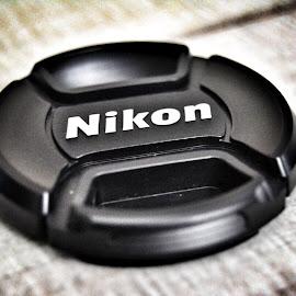 Nikon  by Shalimar Rodriguez de Paez - Abstract Macro