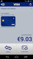 Screenshot of Visa Mobile Prepaid