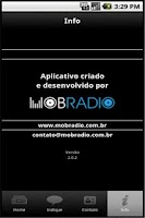 Screenshot of Radio Olinda AM