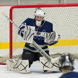 by Darin Bergquist - Sports & Fitness Ice hockey ( hockey, a, bantam, oahe )